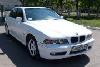Автомобиль BMW-520 белый. Лімузини Житомира - Святковий кортеж